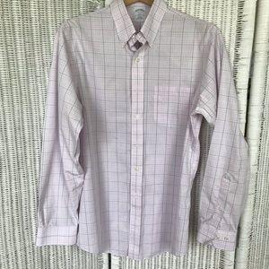 Brooks Brothers MENS Slim Fit Long Sleeve Shirt